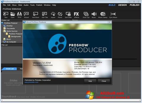 Skjermbilde ProShow Producer Windows 10
