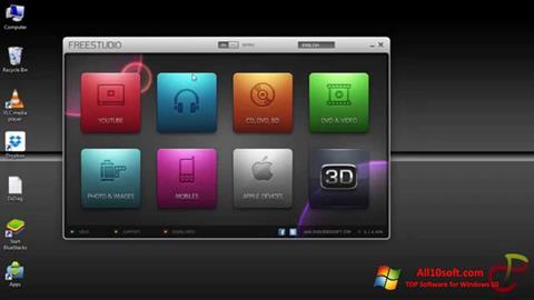 Skjermbilde Free Studio Windows 10