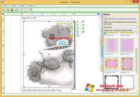 Skjermbilde PhotoMix Collage Windows 10