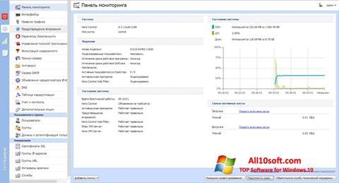 Skjermbilde Kerio Control Windows 10