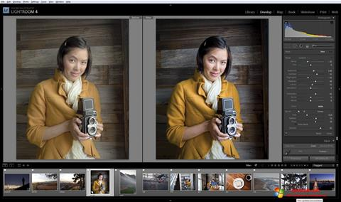 Skjermbilde Adobe Photoshop Lightroom Windows 10