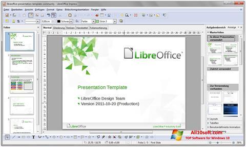 Skjermbilde LibreOffice Windows 10