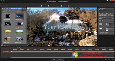 Skjermbilde Pinnacle Studio Windows 10