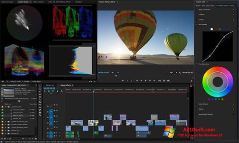 Skjermbilde Adobe Premiere Pro CC Windows 10